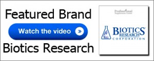Video Featured Brand Biotics Research