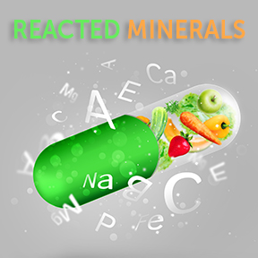 Reacted Minerals