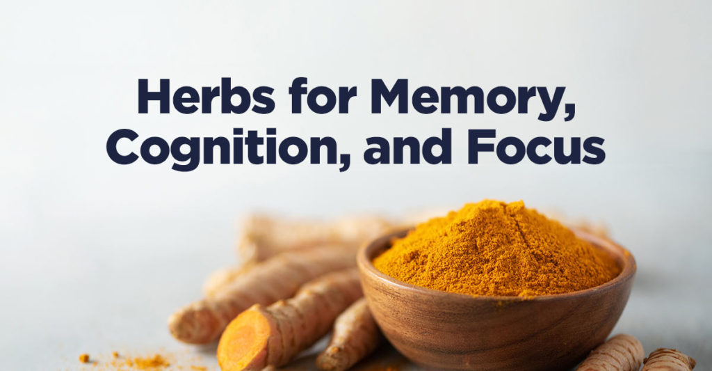 herbs for memory, cognition, and focus