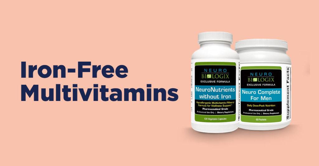 iron free multivitamins