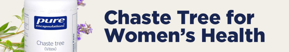 how chaste tree supports women's health