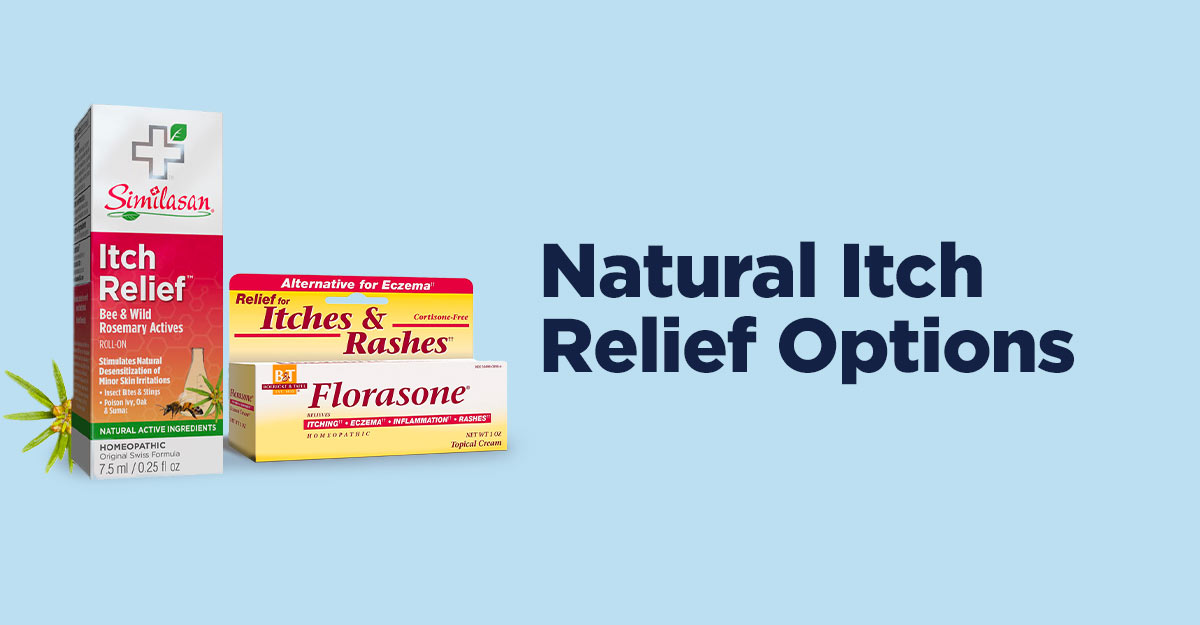 natural itch relief options